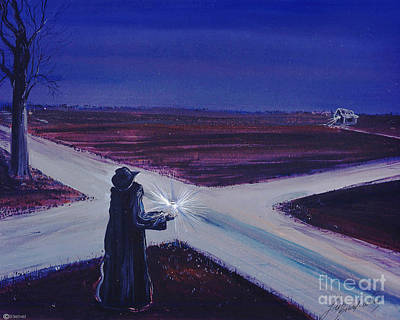 Painting - Crossroads by Lizi Beard-Ward