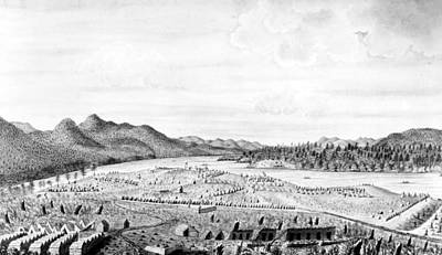 Crown Point, 1759 Art Print by Granger