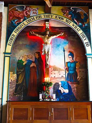 Crucifixion Of Jesus Original by Rakesh KR