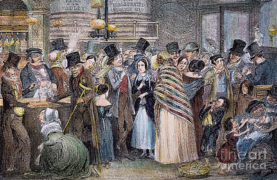 Photograph - Cruikshank: Temperance by Granger