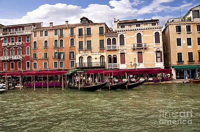 Photograph - Cruising The Grand Canal by Brenda Kean