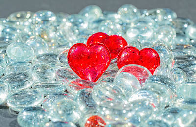 Photograph - Crystal Heart by Peter Lakomy
