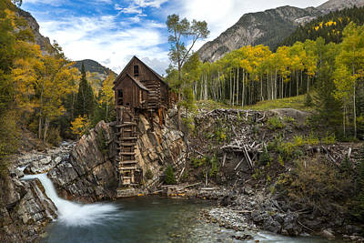 Crystal Mill Photograph - Crystal Mill  by Tom Cuccio