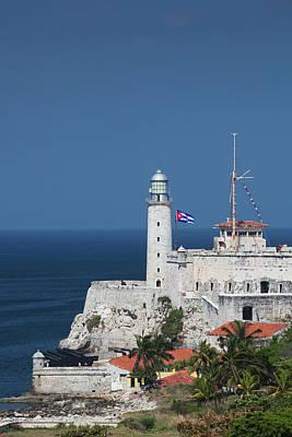 Cuba, Havana, Castillo De Los Tres Art Print