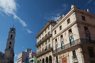 Greater Antilles Photograph - Cuba, Havana, Havana Vieja, Plaza De by Walter Bibikow
