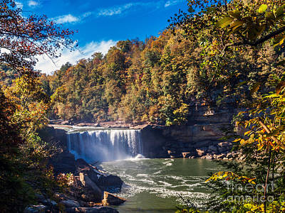 Photograph - Cumberland Falls Three by Ken Frischkorn