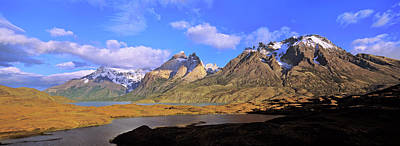 Andes Wall Art - Photograph - Cumbres, Torres And Cuernos Del Paine by Martin Zwick
