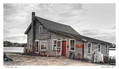 Maine Meadow Photograph - Cundys Harbor Maine by Richard Bean