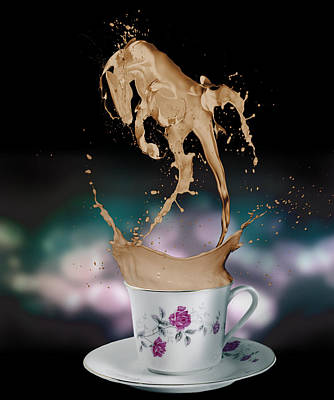 Digital Art - Cup Of Coffee by Kate Black