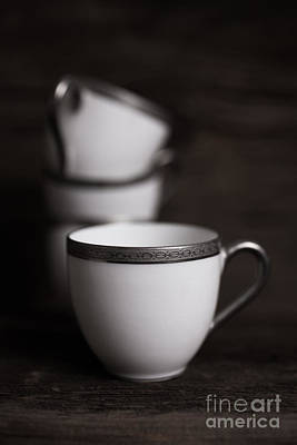 White China Cup Photograph - Cup Of Tea by Edward Fielding