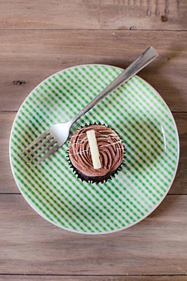 Cupcake  Art Print by Tom Gowanlock