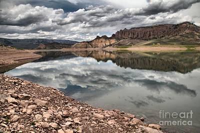 Blue Mesa Reservoir Photograph - Curecanti Dillon Pinnacles by Adam Jewell