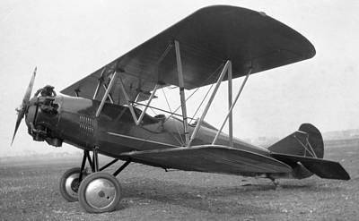 Curtiss Travelair J-6 Wright Engine Art Print by Hank Clark