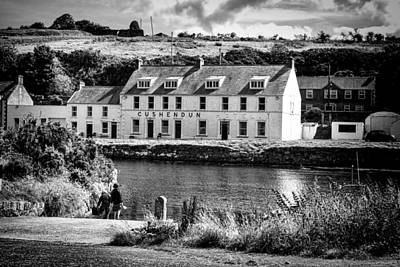 Photograph - Cushendun Hotel by Jim Orr