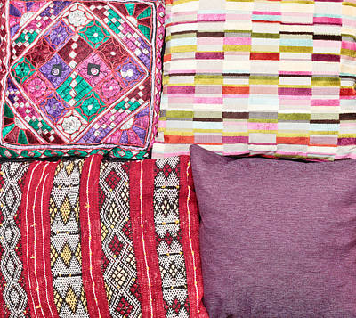 Royalty-Free and Rights-Managed Images - Cushions by Tom Gowanlock