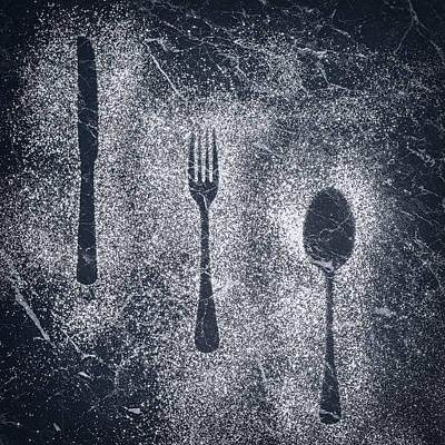 Element Photograph - Cutlery by Amanda Elwell