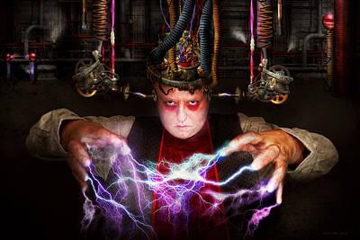 Photograph - Cyberpunk - Mad Skills by Mike Savad