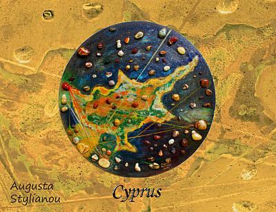 Zodiac Painting - Cyprus  by Augusta Stylianou