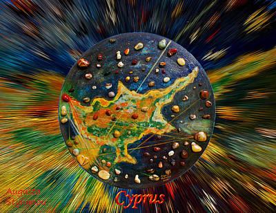 Cyprus Stars Art Print by Augusta Stylianou