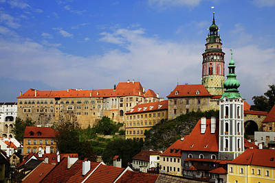Czech Republic, Cesky Krumlov Art Print by Jaynes Gallery