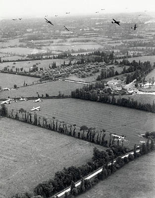 C-47 Photograph - D-day Landings by Us Air Force
