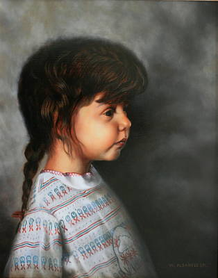Painting - Daddy's Little Girl by William Albanese Sr
