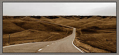 Dakota Highway 1804 Art Print