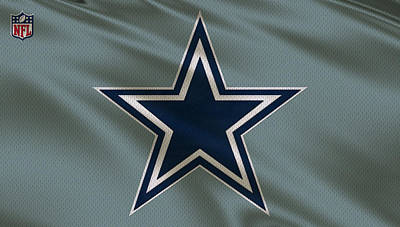 Dallas Cowboys Uniform Art Print