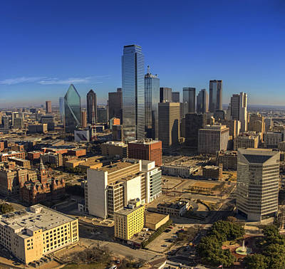 Photograph - Dallas Skyline by Ricky Barnard