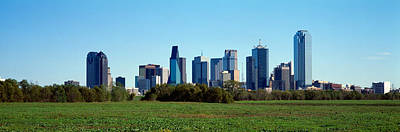 Dallas Tx Art Print by Panoramic Images