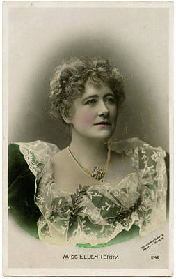 Dame Ellen Alice Terry (1847 - 1928) Art Print by Mary Evans Picture Library