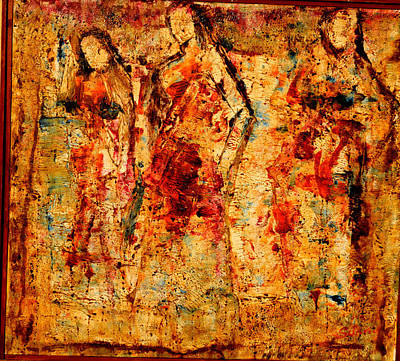 Painting - Dance Dance Dance by Anand Swaroop Manchiraju