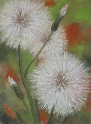 Dandelion Dance Art Print