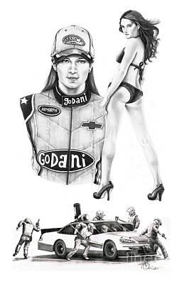 Danica Patrick Art Print