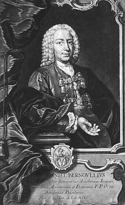 Fluid Mechanics Photograph - Daniel Bernoulli by National Library Of Medicine