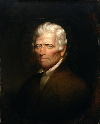 Boone Painting - Daniel Boone by Chester Harding