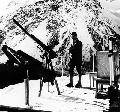 Stellar Photograph - Daniel Chalonge by Emilio Segre Visual Archives/american Institute Of Physics