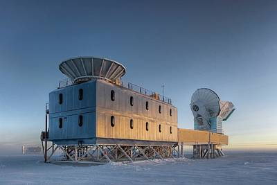 Inflation Photograph - Dark Sector Lab Telescopes by Nsf/steffen Richter/harvard University