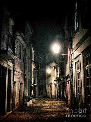 Enigmatic Photograph - Dark Street by Carlos Caetano