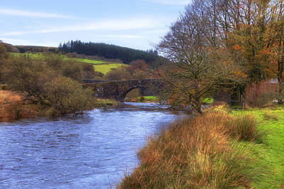 Devon Photograph - Dartmoor - Two Bridges by Joana Kruse
