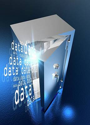 Data Photograph - Data Vault by Victor Habbick Visions