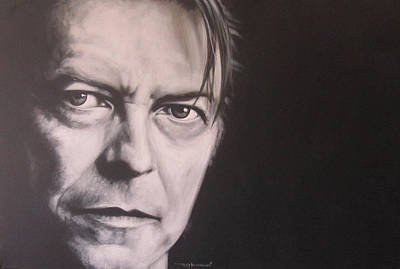 Singer Painting - David Bowie by Bruce McLachlan