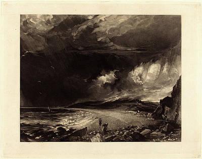 David Lucas After John Constable, British 1802-1881 Art Print by Litz Collection
