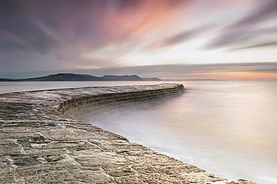 Dawn At The Cobb Art Print by Chris Frost