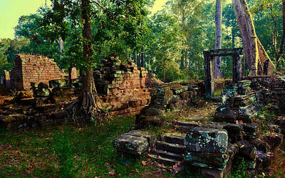 Cambodia Photograph - Dawn by Julian Cook