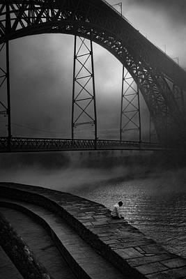 Sad Wall Art - Photograph - Dawn - My Mists ! by Fernando Jorge Gon?alves