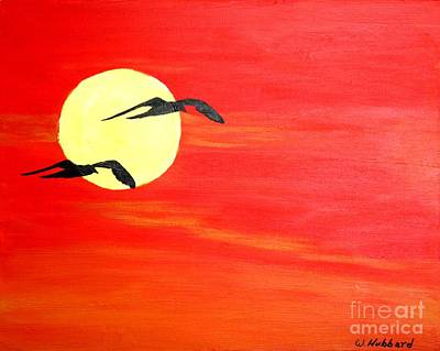 Painting - Dawn Patrol by Bill Hubbard