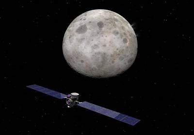 Dawn Spacecraft At Ceres Art Print