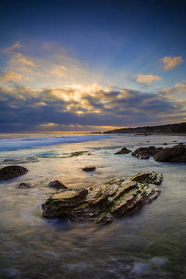 Crystal Cove Photograph - Day's End by Rick Berk