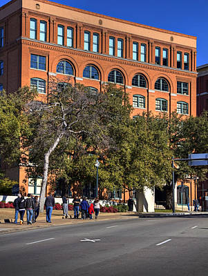 Photograph - Dealey Plaza by Ricky Barnard